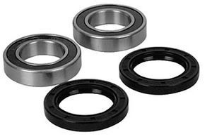 Suzuki Lt F250 Ozark ATV Front Wheel Bearings 02 08