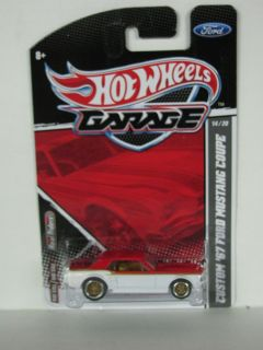 Hot Wheels Garage Custom 67 Ford Mustang Coupe