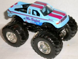 Bigfoot Custom Made Monster Jam Truck 1 64 Hot Wheels Ford F150
