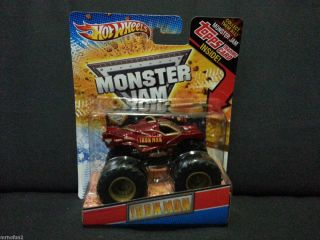 Hot Wheels Monster Jam Iron Man Truck Die Cast Metal Body 1 64 Scale
