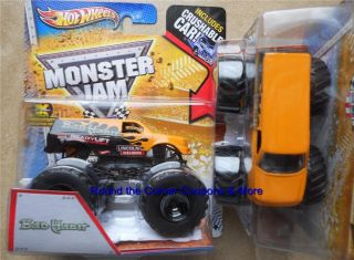 2013 BAD HABIT Hot Wheels Monster Jam New Deco 1 64 scale truck with