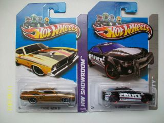 2013 Hot Wheels Treasure Hunts 10 Camaro SS and Secret Super 73 Ford