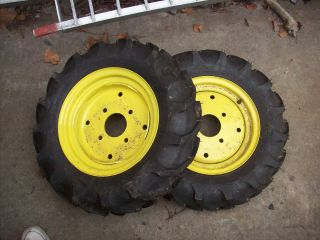 Deere Compact Tractor Titan 6 12 AG Front Tires and Rims New