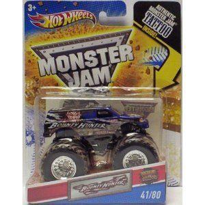 Hot Wheels MONSTER JAM Bounty Hunter Tattoo Series 1 64 Scale New in