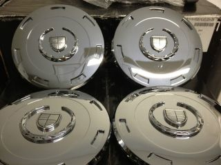 Escalade Platinum Chrome OE Center Caps Hub Covers 22 inch Wheels Rims