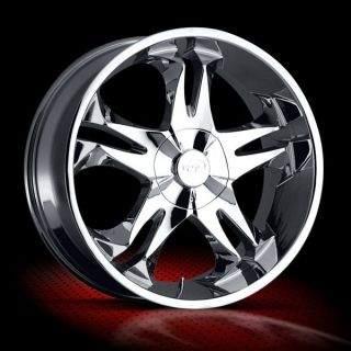 18 inch VCT Brasco Chrome Wheels Rims 5x4 75 5x120 65