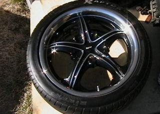 REV 820 17 9 ALUMINUM RIMS WHEELS REICKEN RAPTOR TIRES CELICA