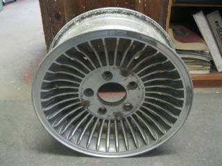 77 78 79 Lincoln Mark V Wheel 15x6 Alum Turbine Design