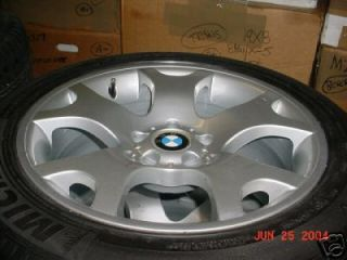 BMW x 5 Wheels Tires 19 Michelin New