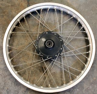 82 Yamaha YZ80 YZ 80 Front Wheel Rim Hub Spokes Lot 83 84