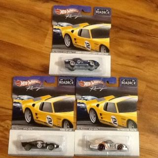Hot Wheels Road Racer Racing Cars COPO Corvette Ford GT 40 78 Porsche