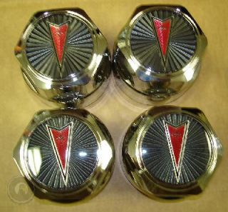 77 92 Firebird Trans Am GTA Center Caps Wheel Hub Chrome Gray Pontiac