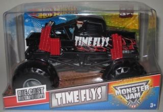 Hot Wheels Monster Jam Time Flys New 2012 Release 1 24 Scale Diecast