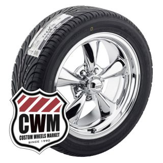 Wheels Rims 5x4 75 Federal 595 Tires for Chevy Monte Carlo 70 81