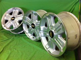 CHEVY Z71 AVALANCHE SILVERADO TAHOE FACTORY STOCK OEM 18 WHEELS RIMS