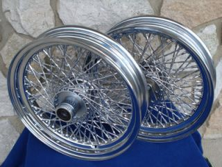 16x3 80 Twisted SPK Wheels for Harley Fatboy Heritage