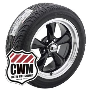 Black Wheels Rims Nexen Tires 235 45ZR17 for Chevy Monte Carlo 82 88