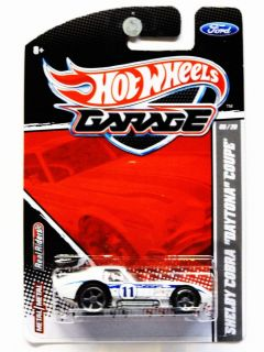 Hot Wheels Garage 08 20 Shelby Cobra Daytona Coupe