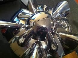 KMC SS Wheel Center Cap Chrome
