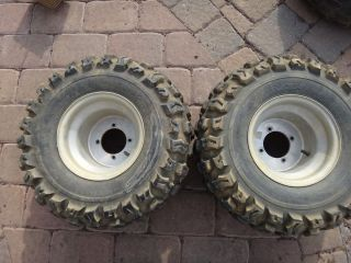 TRX400EX TRX 400EX 400 Rear Wheels Rims Tires