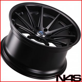 E93 328 335 3 SERIES ROHANA RC10 BLACK CONCAVE STAGGERED WHEELS RIMS