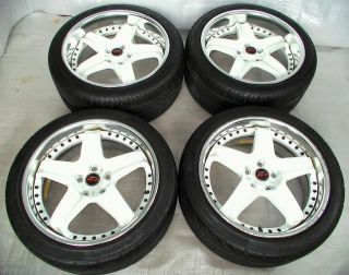 WEDS RS5 18 8J 9J 5x100 Alloy rims Wheels Impreza Legacy Forester