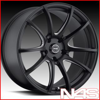 E90 325 328 330 335 MRR LT1 Concave Black Staggered Wheels Rims