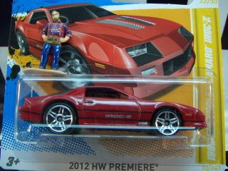 12 Hot Wheels 89 Chevy Camaro IROC Z 2012 HW Premiere Series Mint in