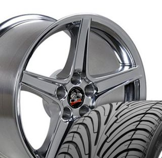 18 Fits Mustang® Saleen Wheels Rims Tires Polished