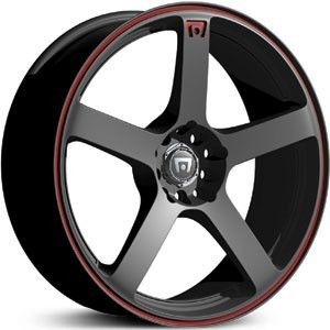 17 inch Motegi Racing MR116 Black Wheels 5x4 25 5x108