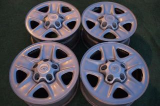 18 Toyota Tundra Steel Wheels Rims with The Center Caps