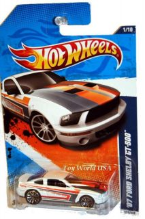 2011 Hot Wheels Nightburnerz 111 07 Ford Shelby GT 50