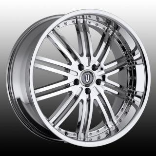 Versante 212   20x8.5   5112   VE212 CHROME mercedes benz (1) New