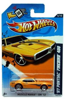 2012 Hot Wheels Muscle Mania GM 105 1967 Pontiac Firebird 400