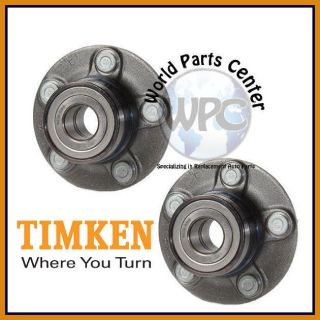 TIMKEN 2 Rear Wheel Bearing Hub Assembly Drum Brakes Ford Taurus