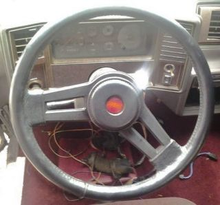 1983 1988 Monte Carlo SS Steering Wheel with Horn Button