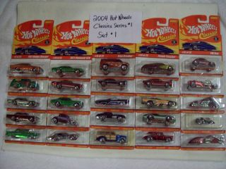 2005 Hot Wheels Classics Series 1 Complete Casting Set
