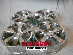 Used 20x9 5x115 5 115 Charger SRT8 Chrome Wheels Rims