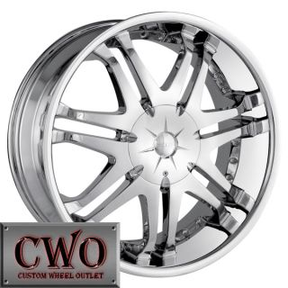 22 Chrome DIP Phantom Wheels Rims 5x135 5x139 7 5 Lug Ford F 150 Dodge
