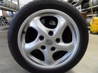 17 OEM Porsche Boxster 996 911 986 Wheels w/ Tires Stylish Very