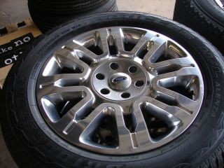 20 Ford F 150 Expedition Platinum Edition Wheels Rims Bridgestone