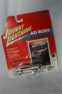 Johnny Lightning 1978 Ford Mustang Cobra II Ad Rods White Rims