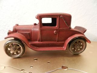 Iron Car 116 Ford Coupe with Rumble Seat and Steel Spoke Wheels
