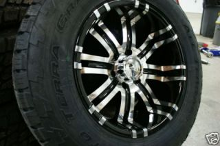 18 inch Ford F150 F 150 Wheels Rims Nitto Terra Tires