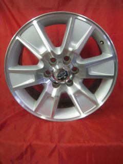 20 INCH Ford F150 Polished Machined Faced Silver Pockets wheel Factory