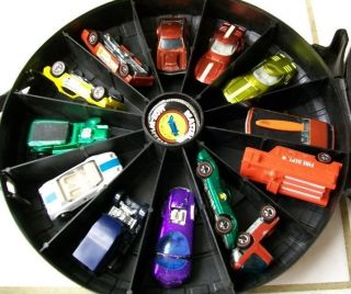 Hot Wheels Redlines 12 Car Lot Collection Buttons and Original Case