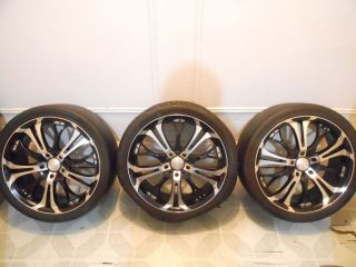 Car or Mini van HPD SPIN OUT 18 RIMS UNIVERSAL 5 lug 5x100, 4x114.3