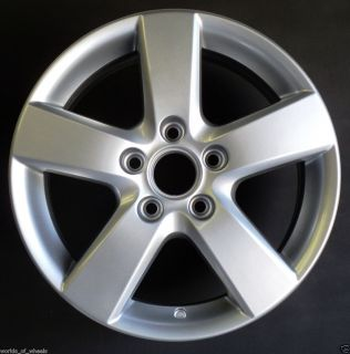 2009 VW Passat Jetta 16 5 Spoke OEM Factory Alloy Wheel Rim H# 69872