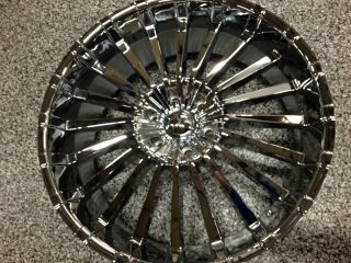 24 INCH CHROME PANTHER RIMS, WHEELS CADILLAC ESCALADE,TAHOE LTZ,GMC