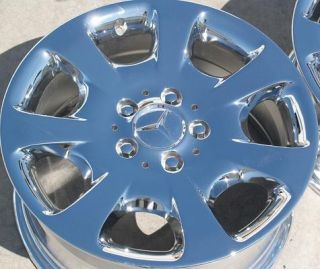 NEW 16 MERCEDES BENZ C240 C280 CHROME OEM WHEELS RIMS EXCHANGE 65337